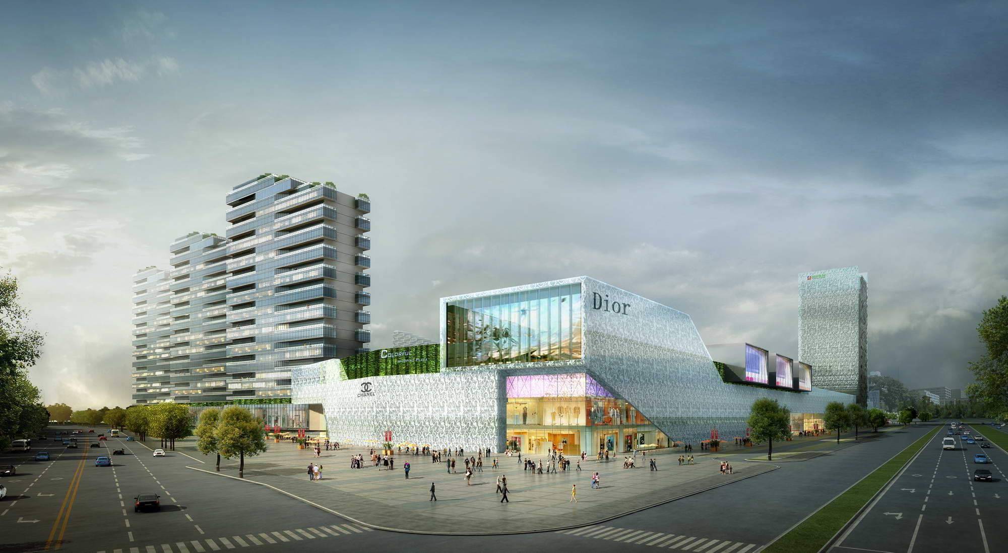 city shopping mall 031 3d model max 206959