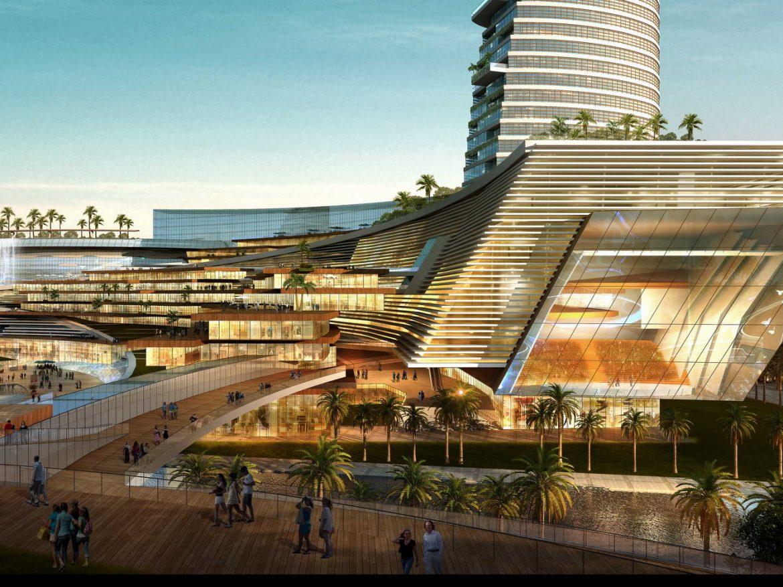 City shopping mall 032 3d model 0