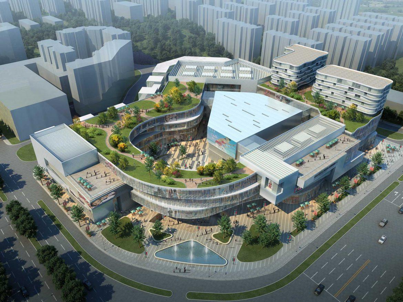 City shopping mall 033 3d model 0