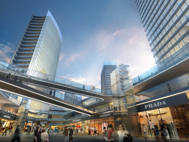 city shopping mall 034 3d model max 206977