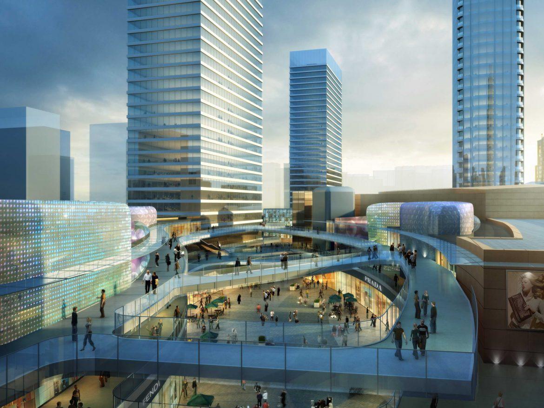 city shopping mall 034 3d model max 206978