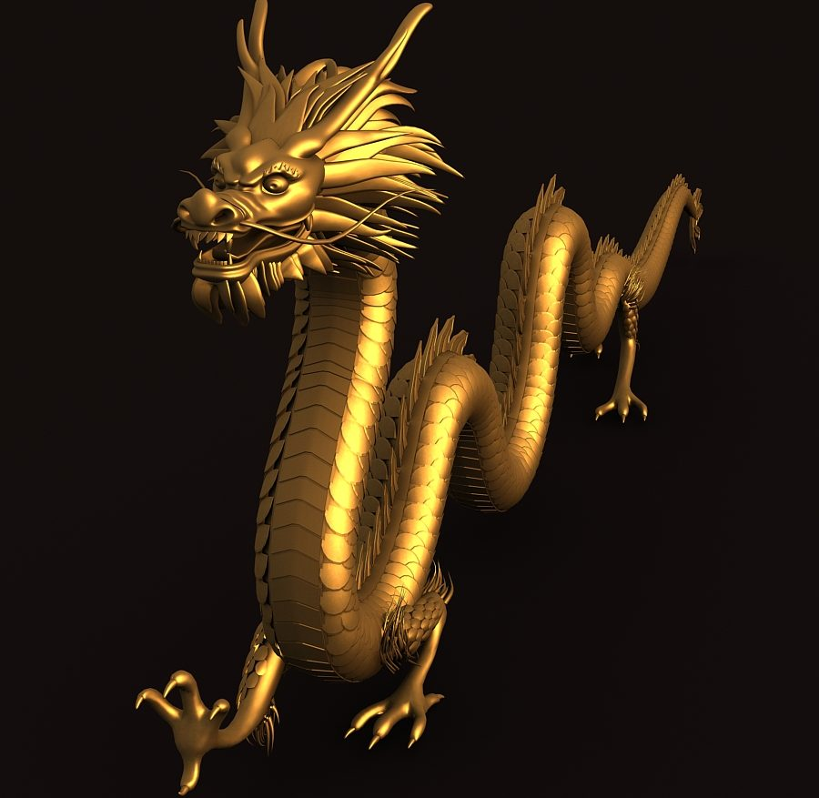 Asian Chinese Dragon 1 ( 336.85KB jpg by hpixel )
