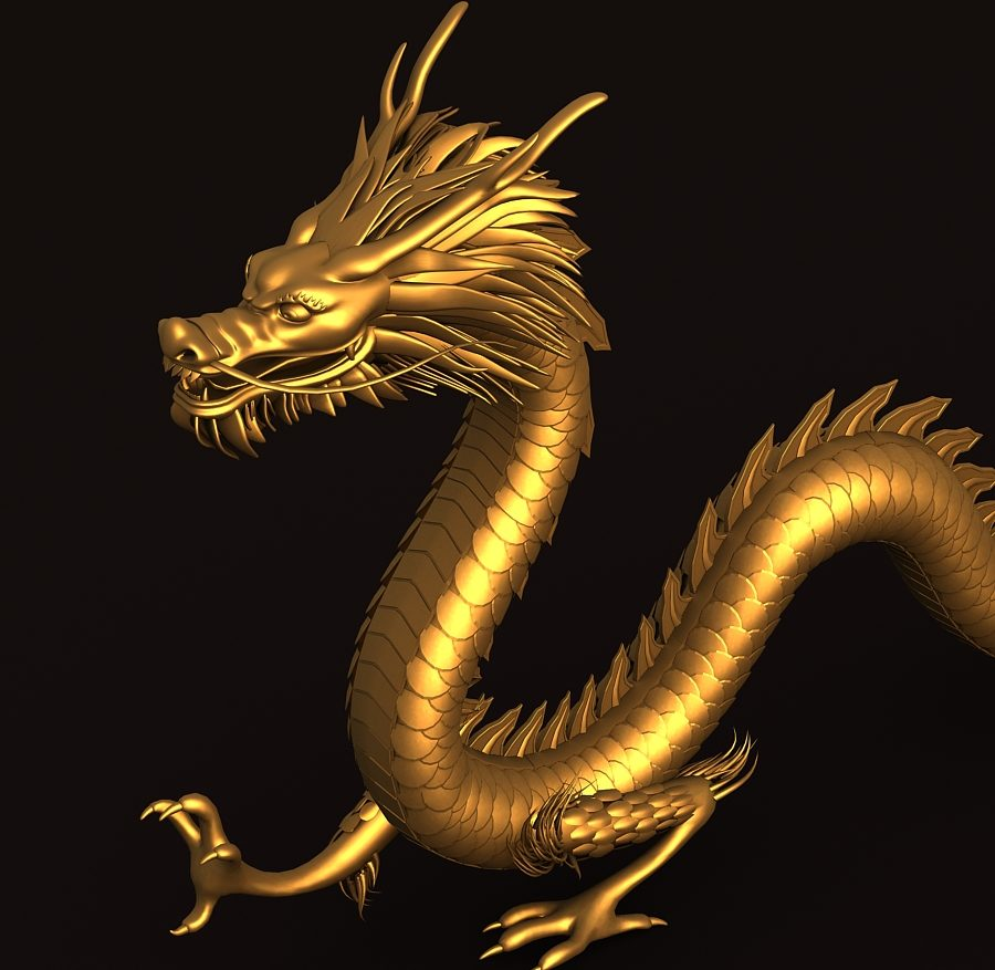 Asian Chinese Dragon 1 ( 389.67KB jpg by hpixel )
