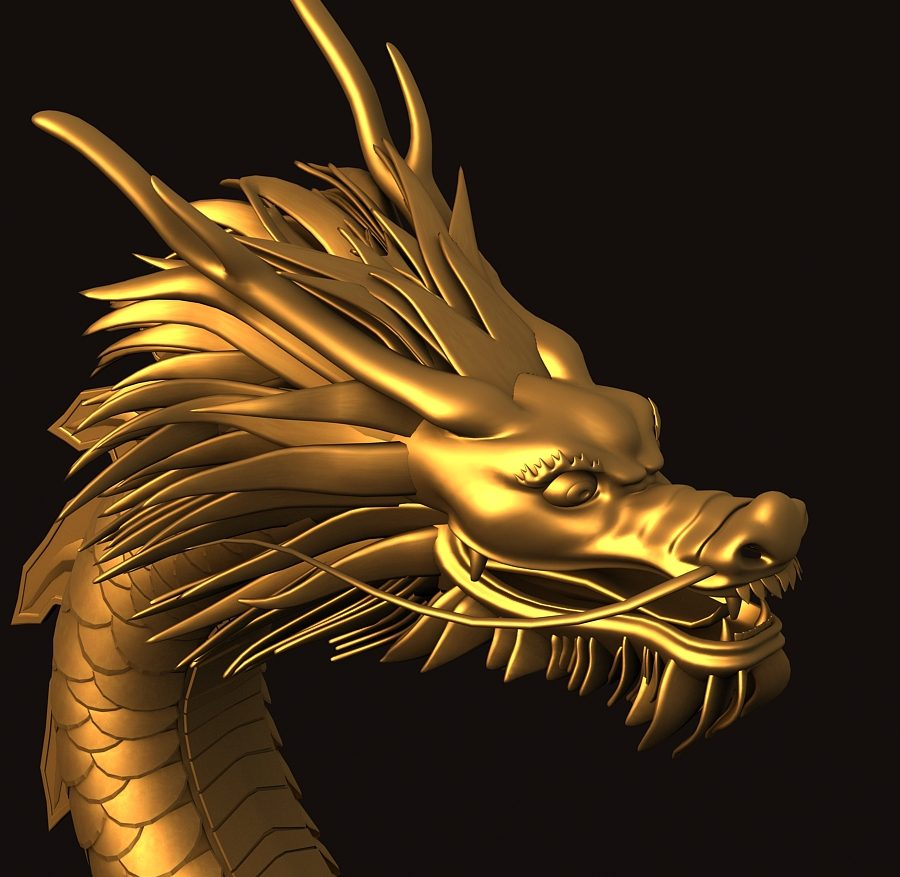 Asian Chinese Dragon 1 ( 395.52KB jpg by hpixel )