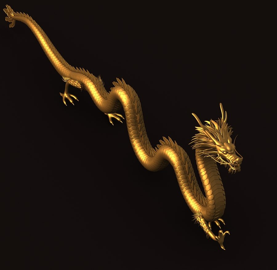 Asian Chinese Dragon 1 ( 287.78KB jpg by hpixel )