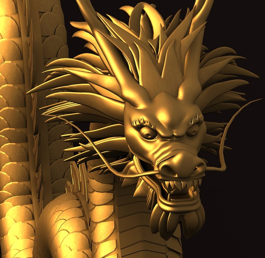 Asian Chinese Dragon 1 ( 544.17KB jpg by hpixel )