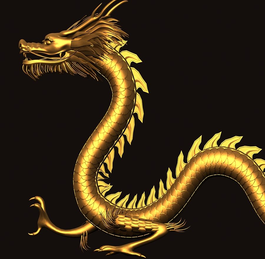 Asian Chinese Dragon 1 ( 320.92KB jpg by hpixel )