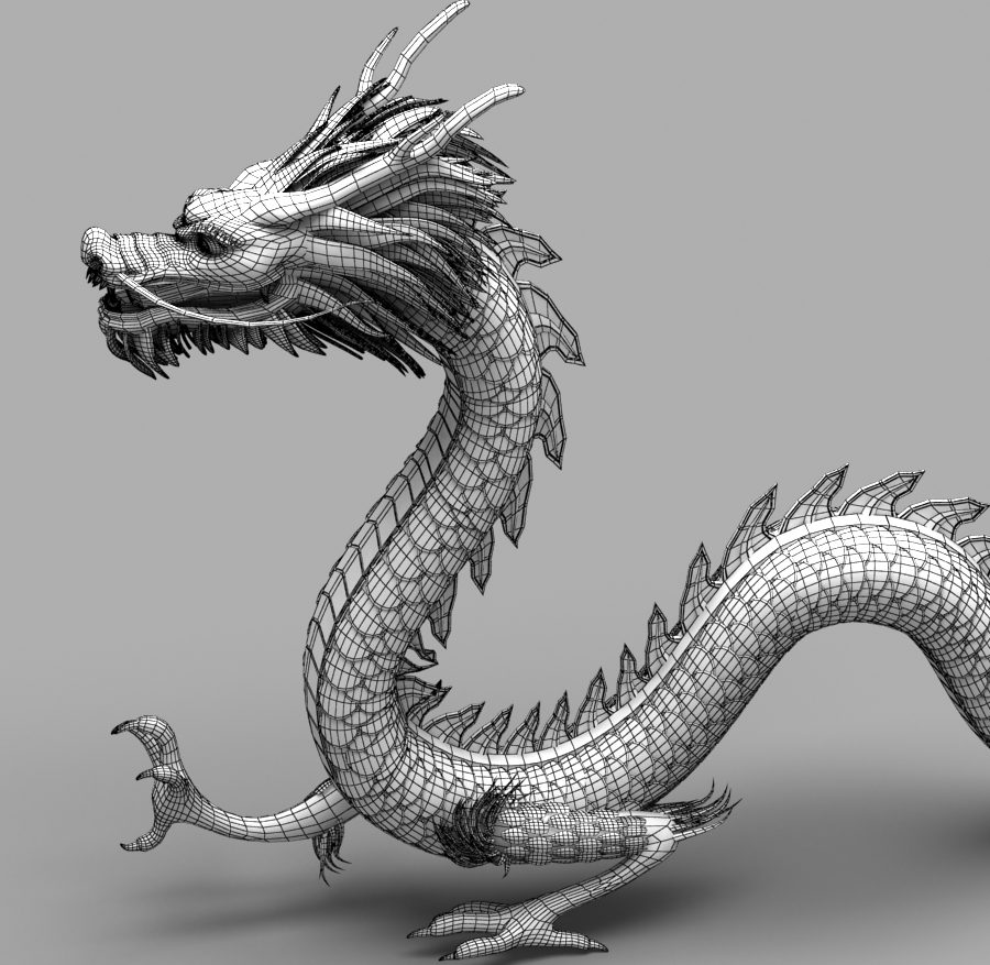Asian Chinese Dragon 1 ( 382.06KB jpg by hpixel )