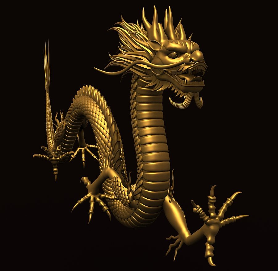 Asian Chinese Dragon 2 ( 305.98KB jpg by hpixel )
