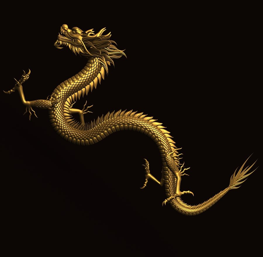 Asian Chinese Dragon 2 ( 214.18KB jpg by hpixel )