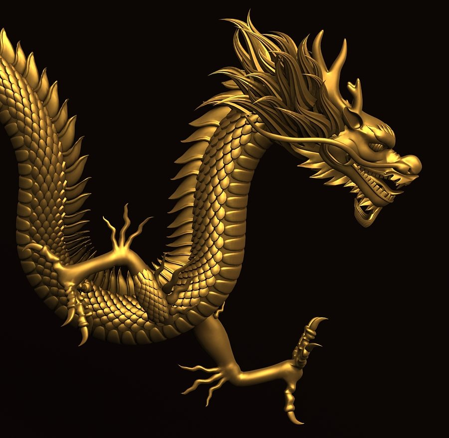 Asian Chinese Dragon 2 ( 350.82KB jpg by hpixel )