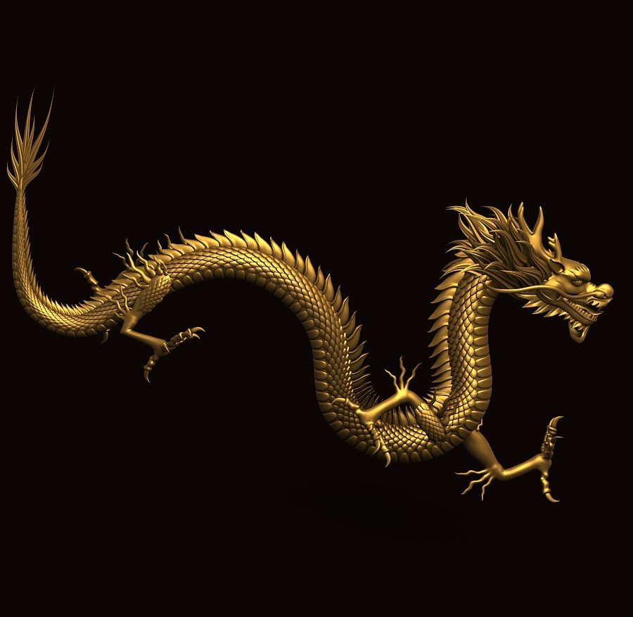 Asian Chinese Dragon 2 ( 245.73KB jpg by hpixel )