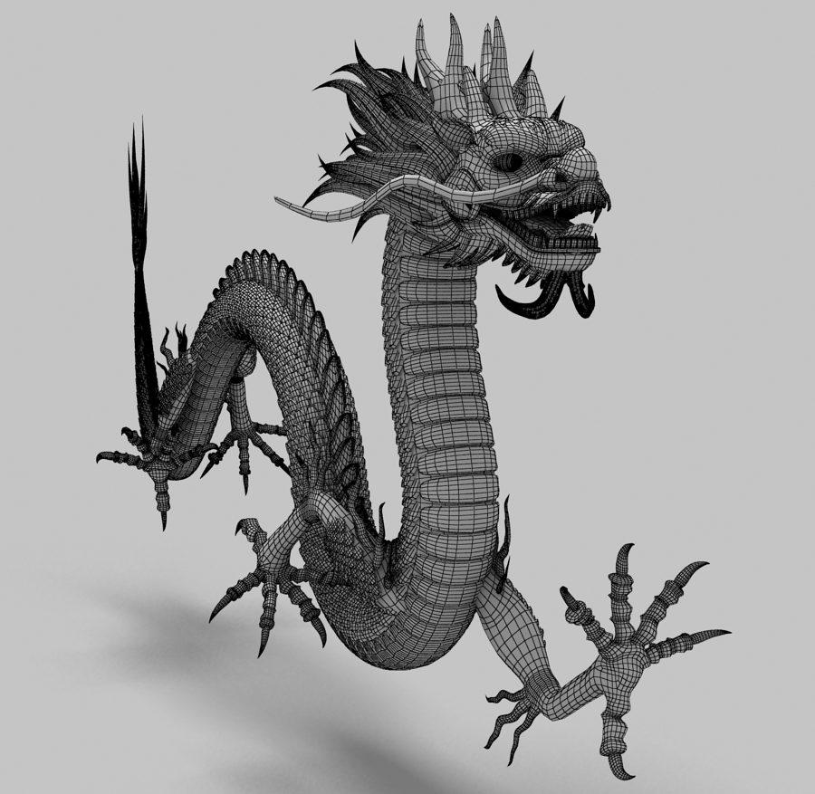 Asian Chinese Dragon 2 ( 358.36KB jpg by hpixel )