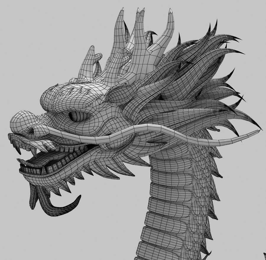Asian Chinese Dragon 2 ( 449.15KB jpg by hpixel )