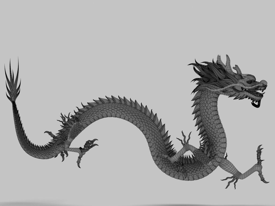 Asian Chinese Dragon 2 ( 1046.1KB jpg by hpixel )