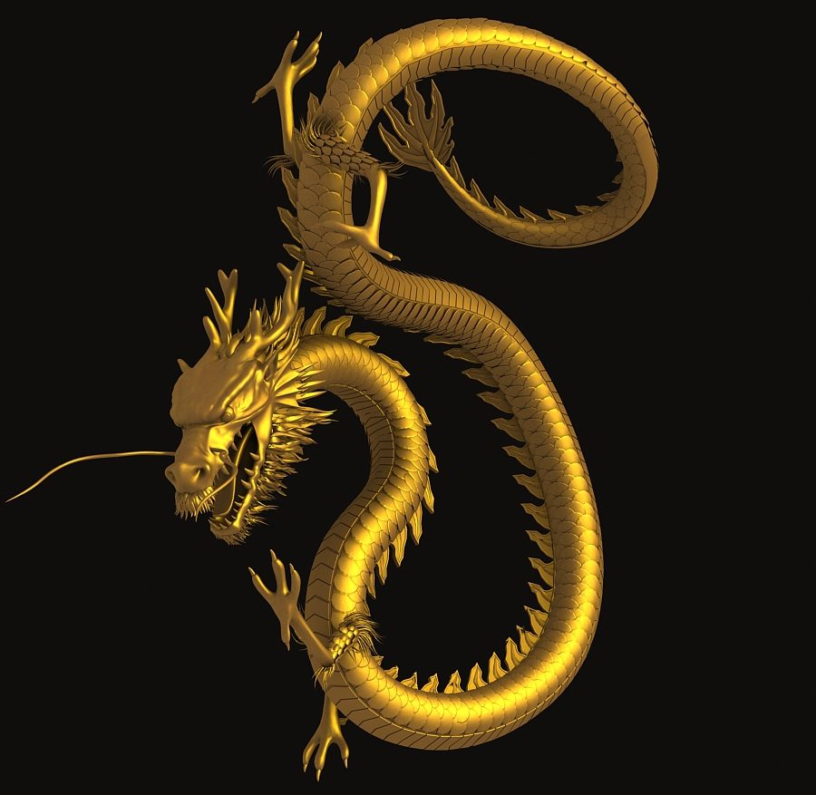 Asian Chinese Dragon 3 ( 357.97KB jpg by hpixel )