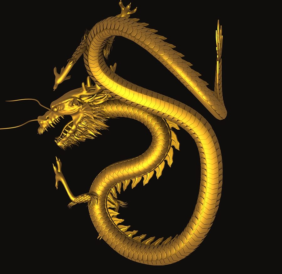Asian Chinese Dragon 3 ( 384.3KB jpg by hpixel )