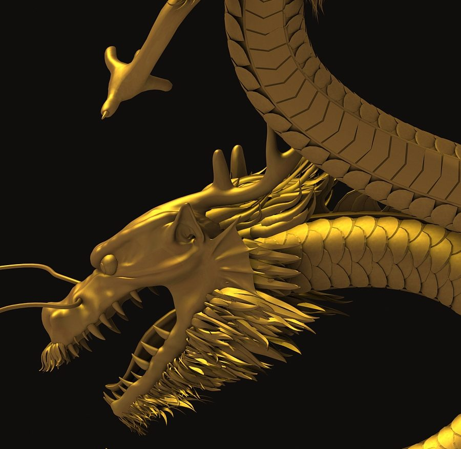 Asian Chinese Dragon 3 ( 406.54KB jpg by hpixel )