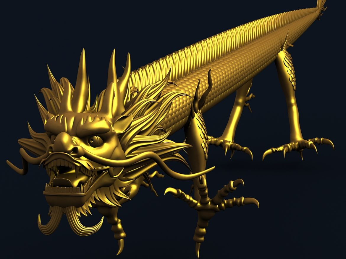 Straight Chinese Dragon 1 ( 619.68KB jpg by hpixel )
