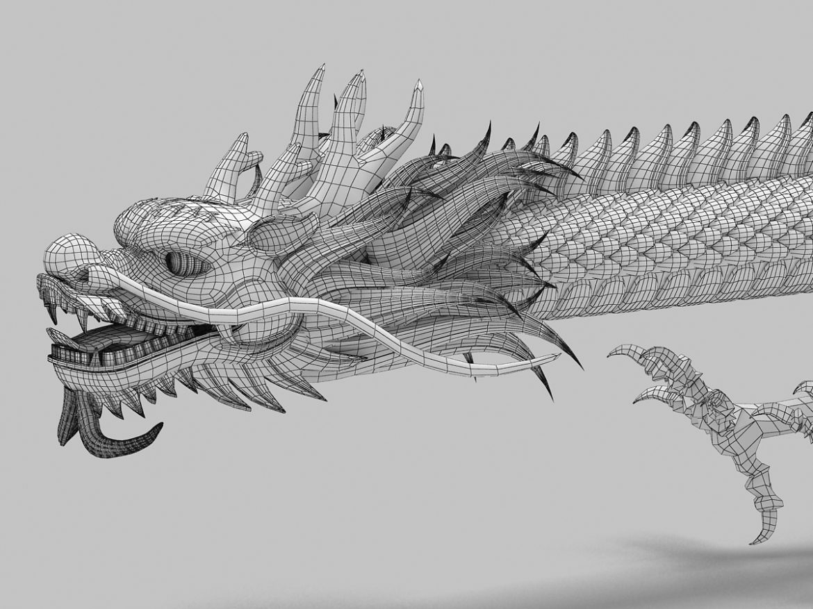 Straight Chinese Dragon 1 ( 658.5KB jpg by hpixel )