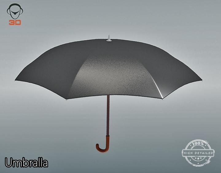 Umbrella 3d model 3ds max fbx obj 207113