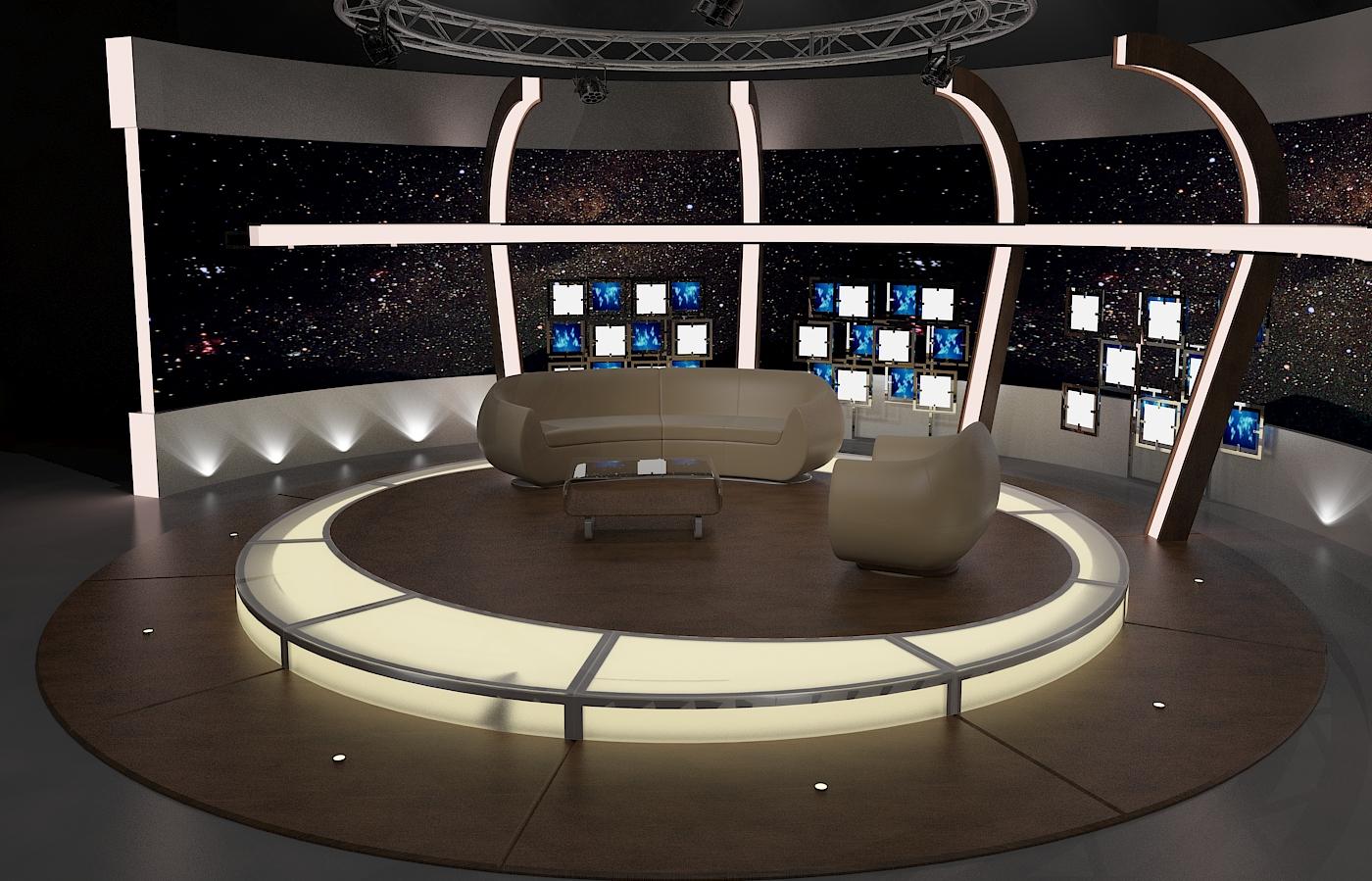 Виртуал ТВ чат 20 3d загвар max dxf fbx obj 207150-ийг тохируулж байна