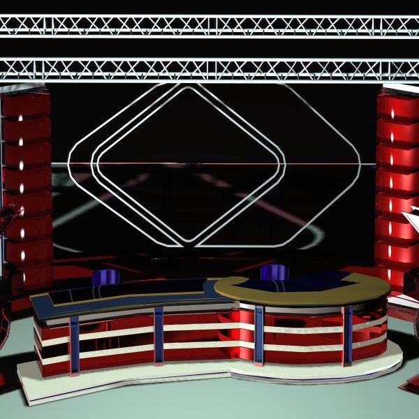 news studio 109 3d model 3ds max dxf dwg fbx obj 207229