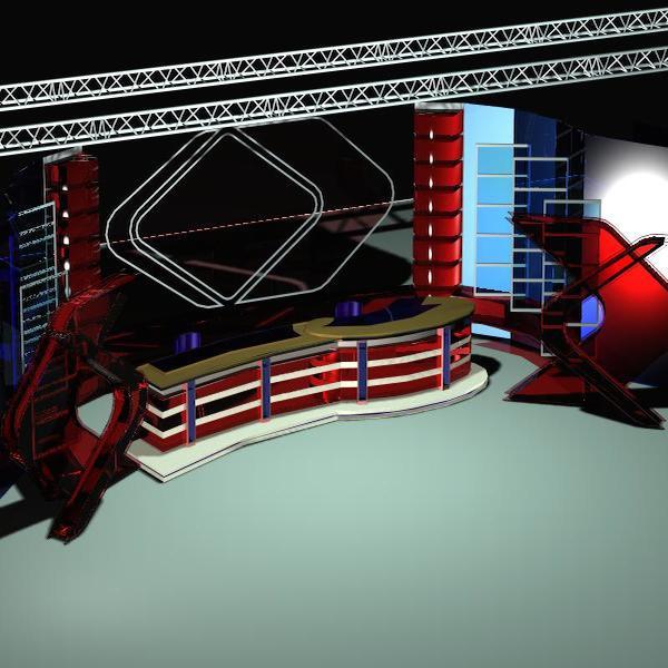 news studio 109 3d model 3ds max dxf dwg fbx obj 207231