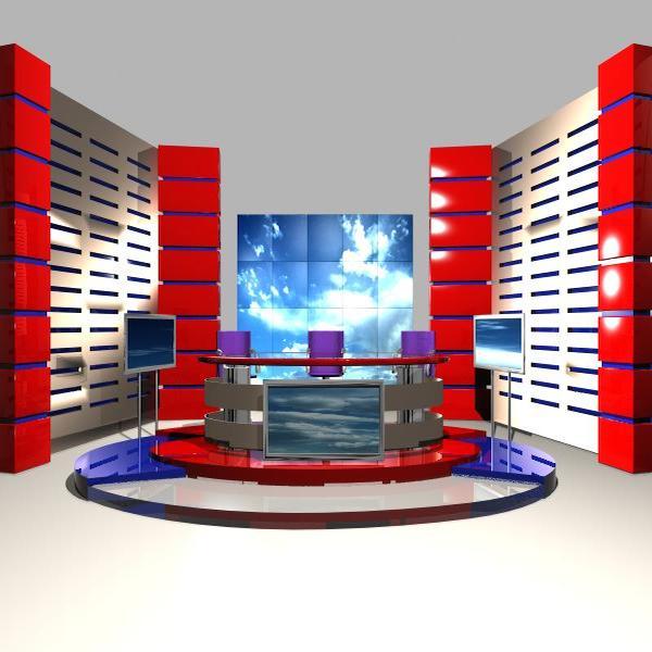 news studio 004 3d model 3ds max dxf fbx texture obj 207237