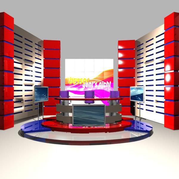 news studio 004 3d model 3ds max dxf fbx texture obj 207242