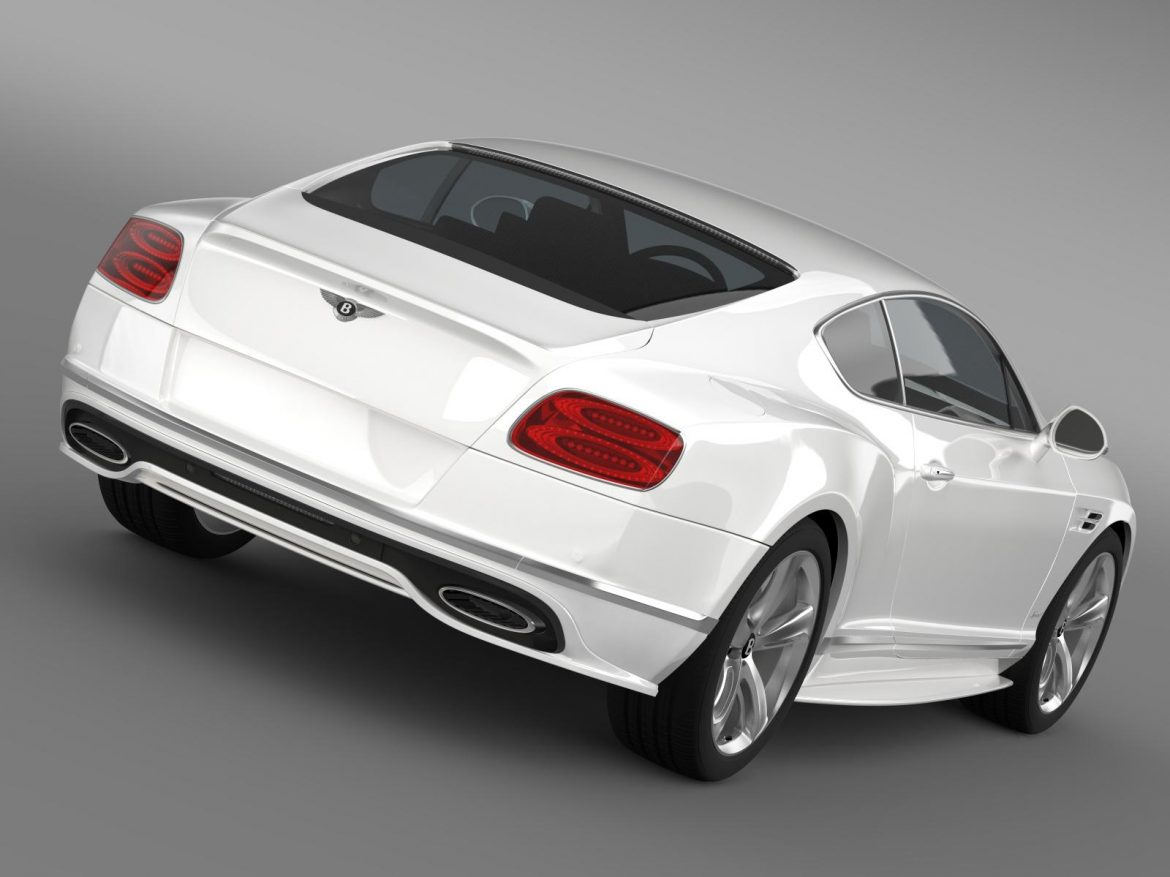 bentley continental gt speed 2015 3d model 3ds max fbx c4d lwo ma mb hrc xsi obj 207267