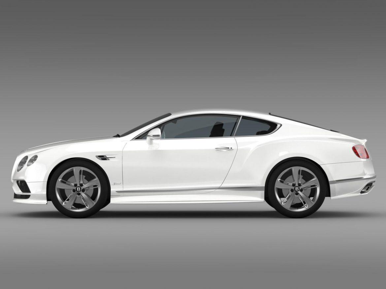 bentley continental gt speed 2015 3d model 3ds max fbx c4d lwo ma mb hrc xsi obj 207271