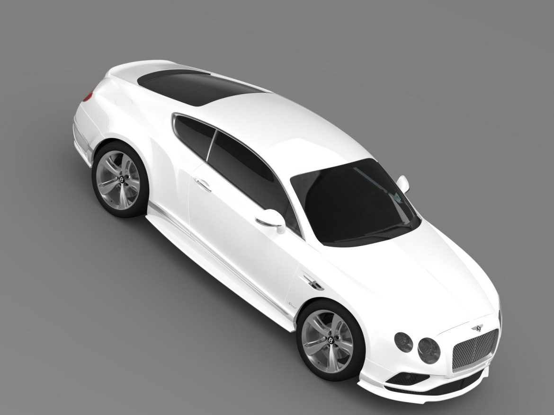 bentley continental gt speed 2015 3d model 3ds max fbx c4d lwo ma mb hrc xsi obj 207277
