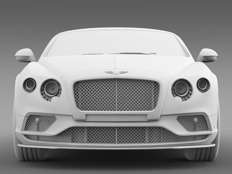 bentley continental gt speed 2015 3d model 3ds max fbx c4d lwo ma mb hrc xsi obj 207278