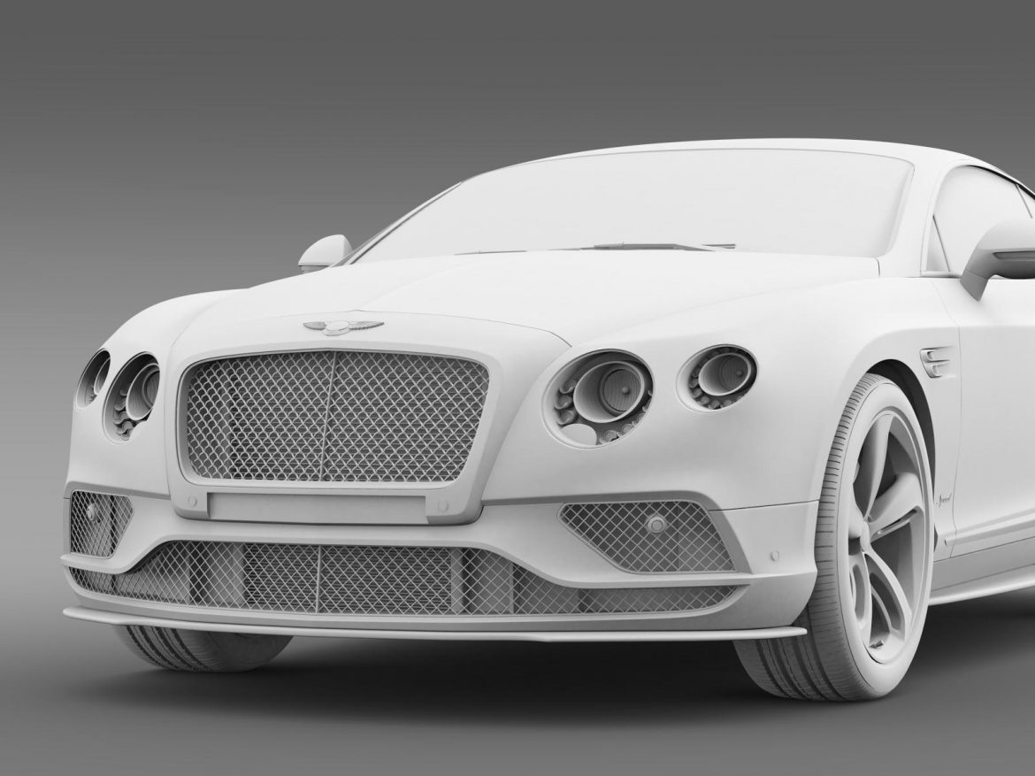 bentley continental gt speed 2015 3d model 3ds max fbx c4d lwo ma mb hrc xsi obj 207280