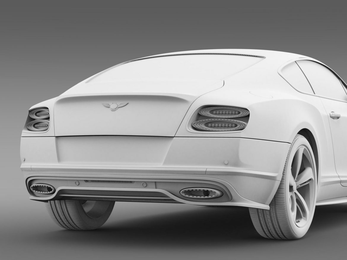 bentley continental gt speed 2015 3d model 3ds max fbx c4d lwo ma mb hrc xsi obj 207281