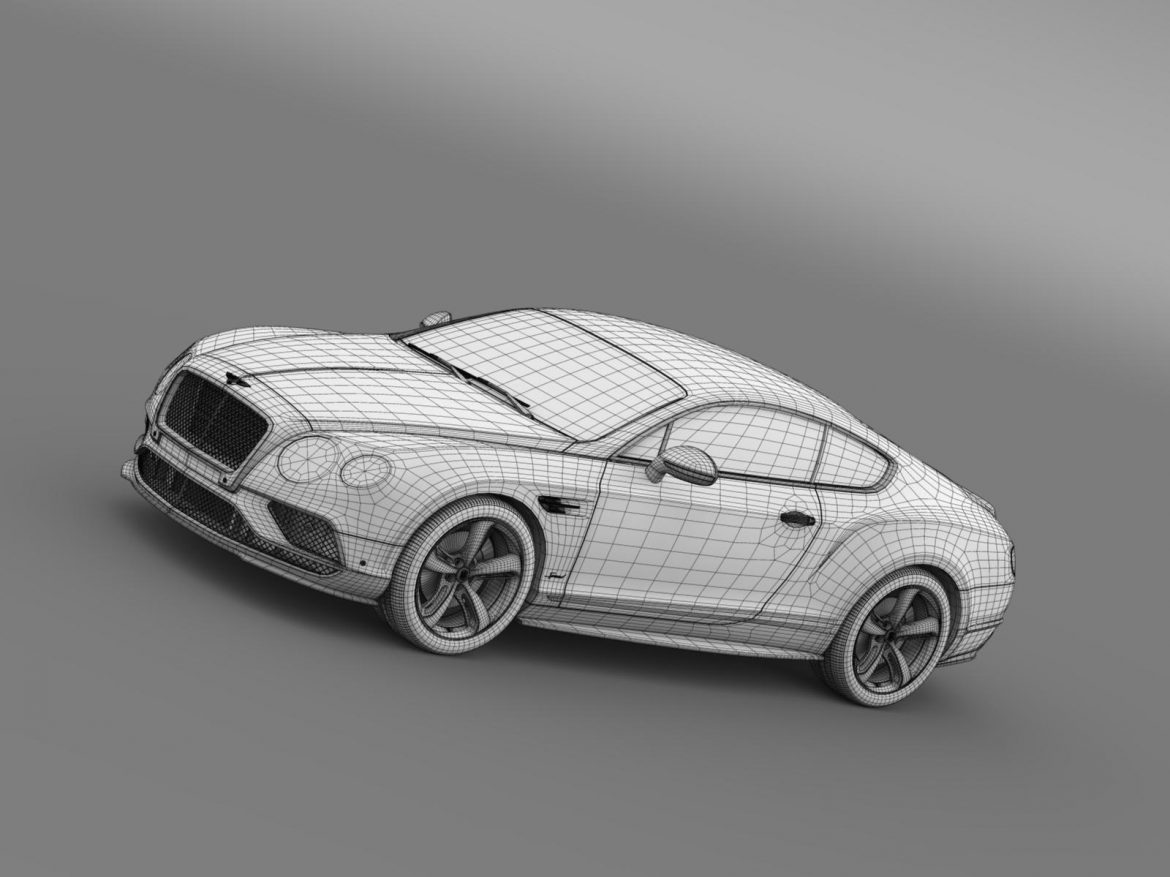bentley continental gt speed 2015 3d model 3ds max fbx c4d lwo ma mb hrc xsi obj 207282