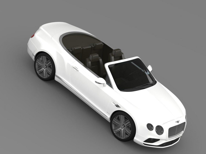 bentley continental gtc 2015 3d model 3ds max fbx c4d lwo ma mb hrc xsi obj 207297