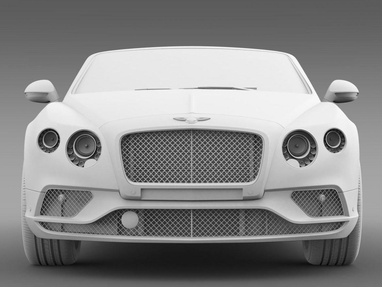 bentley continental gtc 2015 3d model 3ds max fbx c4d lwo ma mb hrc xsi obj 207298