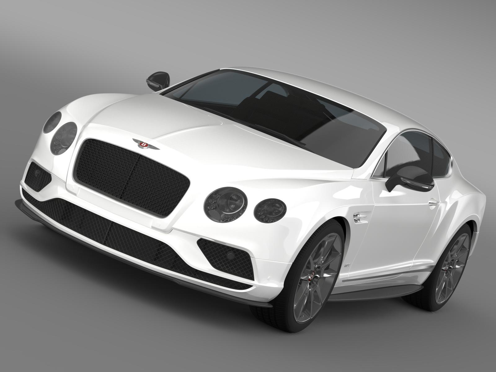 bentley continental gt v8 s 2015 01 3d model 3ds max fbx c4d lwo ma mb hrc xsi obj 207306