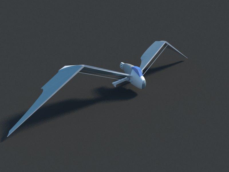 Futuristic Aircraft ( 24.77KB jpg by hadzi96 )