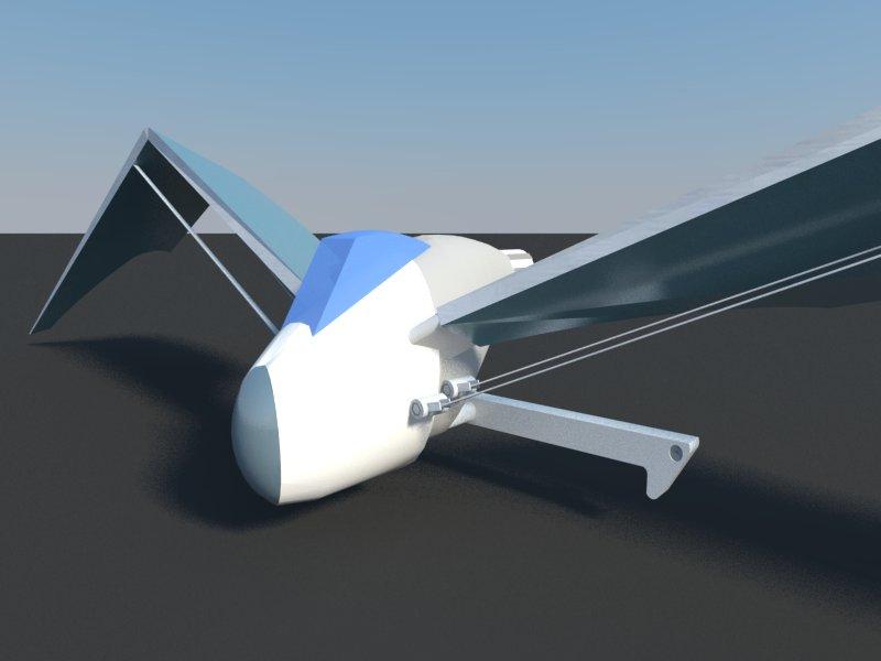 Futuristic Aircraft ( 33.06KB jpg by hadzi96 )