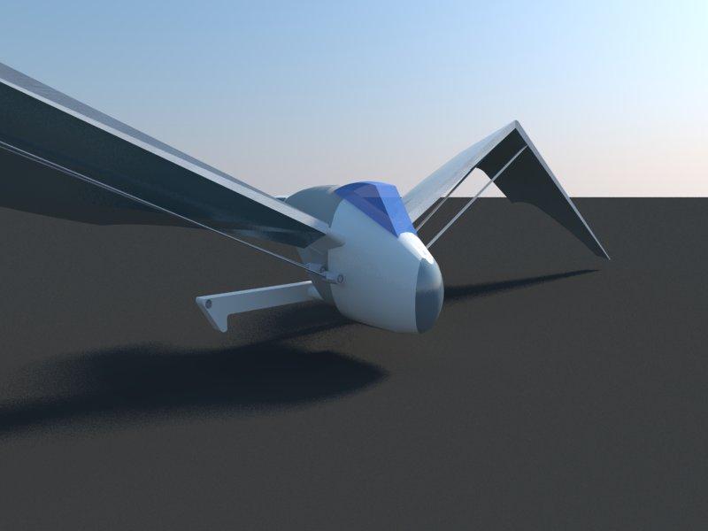 Futuristic Aircraft ( 28.31KB jpg by hadzi96 )