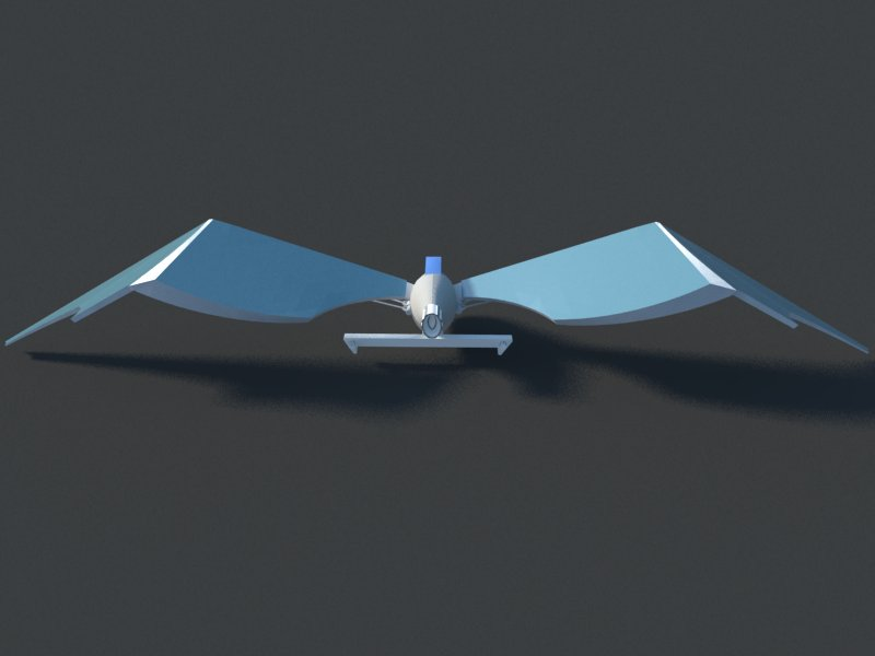 Futuristic Aircraft ( 24.66KB jpg by hadzi96 )