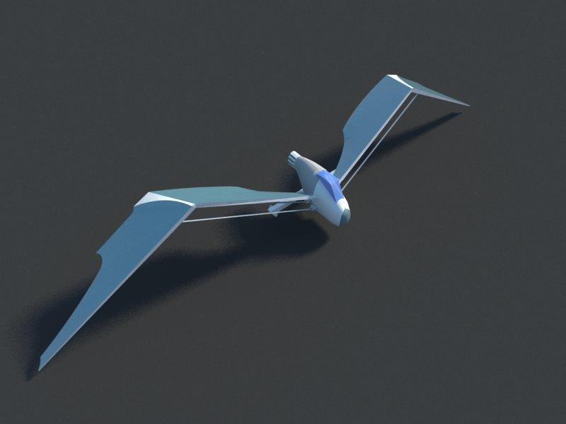 Futuristic Aircraft ( 25.28KB jpg by hadzi96 )
