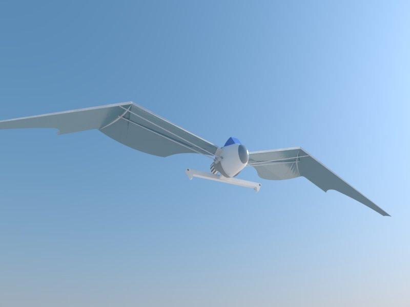 Futuristic Aircraft ( 19.47KB jpg by hadzi96 )