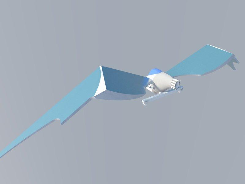 Futuristic Aircraft ( 16.05KB jpg by hadzi96 )