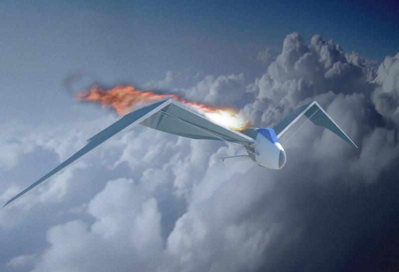 Futuristic Aircraft ( 78.55KB jpg by hadzi96 )