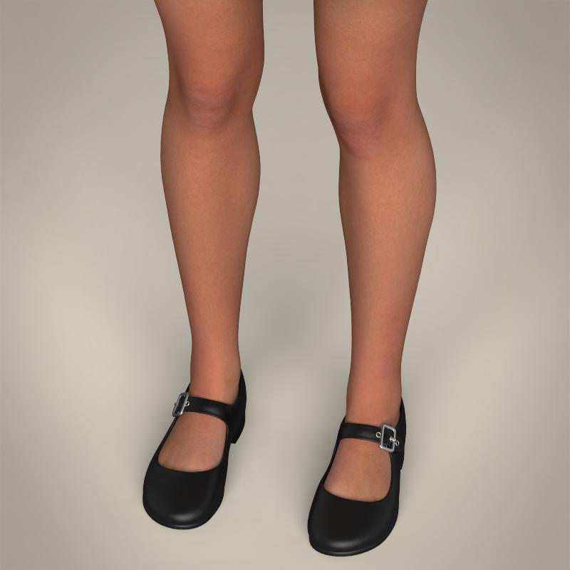 realistic pregnant woman 3d model 3ds max fbx c4d lwo ma mb texture obj 207446