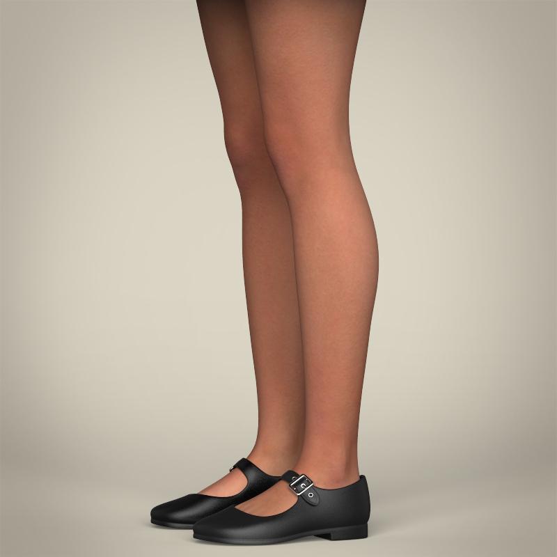 realistic pregnant woman 3d model 3ds max fbx c4d lwo ma mb texture obj 207447